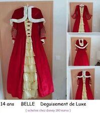 Costume déguisement fille fête carnaval DISNEY BELLE   14 ans