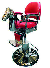 Barber Chair -Children Barber Chairs -Hair Styling - Traditional Horse Chair