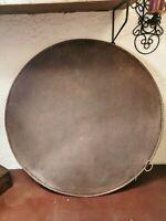 Kuchenblech Altes grosses rundes antikes Backblech Bäcker Blech vintage 68,5cm