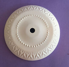 """NEW: WHITE 5"""" CHANDELIER CEILING CANOPY SCONCE BACK PLATE VASE CAP"""