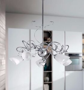 Hanging Chandelier Modern Chrome Rhinestone Crystals Product
