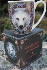 Mulp55 Tasse Mug Loup Blanc Heroic Fantasy Design Lisa Parker