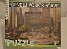 The Saturday Evening Post New York's 5th Ave.  1000 Piece Puzzle Sealed