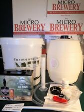 luxury starter pack - MICROBREWERY - GIFT BOX complete kit home brew ale beer