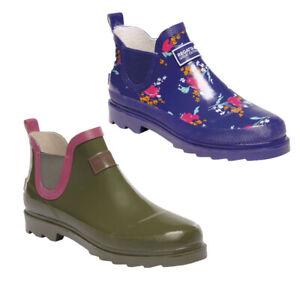 Women's Regatta Harper  Short Welly Wellington Waterproof Boots RRP £40