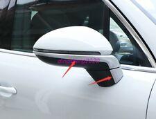 ABS Chrome Rearview Mirror Strip Decorative Trim For Porsche Cayenne 2018-2020