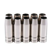 15Ak Gas Nozzle 10Pcs Mig Welding Torch Gas Nozzle Contact Tip For Mig Mag WA2N9