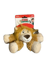 Kong Legz Lion Stretchezz Squeaks & Crackles Small Squeaky Dog Toy