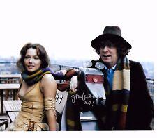 John Leeson Signiertes Foto - Doctor Who - Stimme von K9 ! British Autogramm