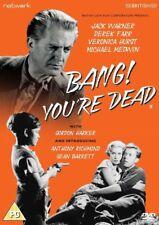 BANG YOU'RE DEAD. Jack Warner, Derek Farr. New Sealed DVD.