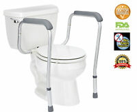 Toilet Safety Frame Adjustable Legs By Healthline Trading
