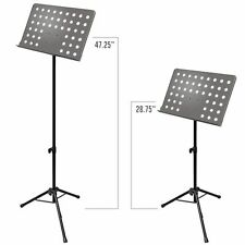 AxcessAbles Sm-501B Orchestra Conductor Sheet Stand Height & Angle Adjustable (B