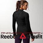 Reebok CrossFit Women ANTI-FREEZE Thermal Shirt Compression Top Running Warm 2XS