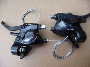 Shimano 6 Speed Rapid EZ Fire 18 Gears shifters Brake lever pod combo ST-EF41