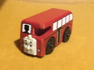 Vintage Thomas The Tank Engine & Friends BERTIE BUS WOODEN MAGNETIC