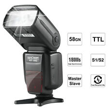 K&F Concept KF-882 Flash i-TTL HSS Wireless Speedlite 1/8000s Master for Nikon