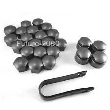Wheel Lug Nut Center Cover Caps + REMOVAL For Audi A1 A3 A4 A5 A6 A7 A8 Q5 Q7 TT