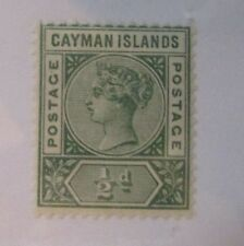 Cayman Islands  SC #1 MH ½d stamp