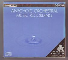 ANECHOIC ORCHESTRAL MUSIC RECORDING  (CD, Denon Records)  SEALED NEVER OPENED