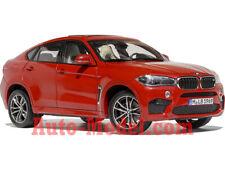 1:18 Norev 2015 BMW X6 M Long Beach Red Metallic Dealer Edition