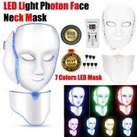 7 Colors Face Mask LED Light Photon Rejuvenation Skin Therapy For Anti Wrinkles