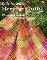 Kaffe Fassett's Heritage Quilts (Paperback or Softback)