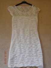 Girls Cream Lace Dress by Mosnova. Size M.