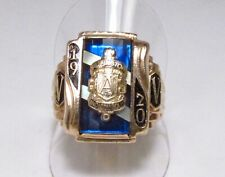 Vintage 1970 Arlington High School Indianapolis Indiana 10K Gold Mens Class Ring