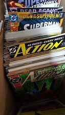 action comics Superman Comic Lot of 155 585-825 nm bagged