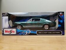 Maisto Special Edition 1967 Ford Mustang GTA Fastback 1:18 Green