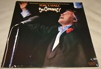 In Concert by Tom T. Hall (Vinyl LP, 1983 USA Sealed)