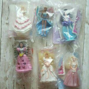 Lot Of 6 1992-1994 Barbie McDonald's NEW Dolls