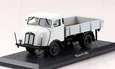 Horch H3 Pritsche grau LKW  1:43 Ixo/Altaya Modellauto 121