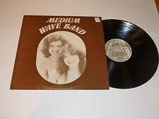 MEDIUM WAVE BAND - 1978 UK 12-track vinyl LP - Signed by the band