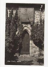 Sun Dial, Eyam, Derbyshire RP Postcard, A677