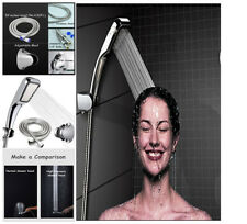 Bathroom Shower-Head Hose and bracket High Pressure Water Saving Ionic Handheld