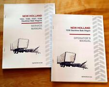 New Holland 1038 Stackliner Bale Wagon Operator's AND Service Repair Manual