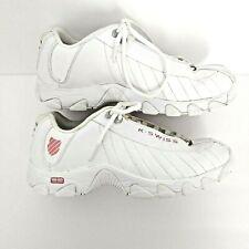 New listing K-Swiss Women's Cross Training Shoes M 9 1/2 White Pink 93426-156 ST329