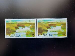 Canada SC# 937 1984 $5 Point Pelee - Pair - MNH