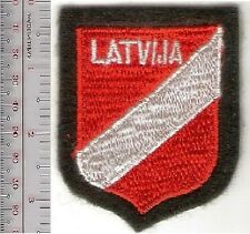 Germany & Latvia Foreign Legion Latvija Volunteers Shield Werhmacht Army Shield