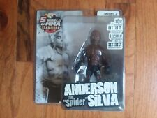 "ROUND 5 UFC ULTIMATE COLLECTOR~ANDERSON ""SPIDER"" SILVA~OUT OF PRINT~RARE~"