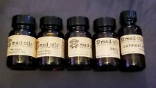 Mad Oils/Arizona Mad Fragrance Oils for Soap & Candle Making Lot of 5 (1 oz)