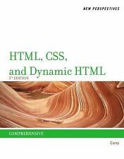 HTML: New Perspectives on HTML, CSS, and Dynamic HTML by Patrick M. Carey (2012,