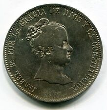 20 REALES PLATA ISABEL II 1837  MADRID CR