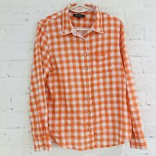 Tommy Bahama Mens Long Sleeve Checked Shirt With Beaded Collar  L/G