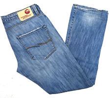 JACK & JONES Herren Jeans Hose Flare Vintage Bootcut 34/32 W34 L32 blau C443