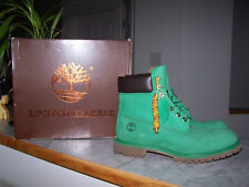 TIMBERLAND Limited Release Mens Green Waterproof Lace Up Boots Size 11 M (NEW)