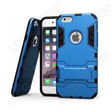 Hybrid Armor Shockproof Slim Case Cover w Kickstand for iPhone 6 6s Blue GI6B