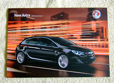 Vauxhall New Astra Mk6 Range 2010 Models No1 Inc S, Exclusiv, SRi, SE, Elite