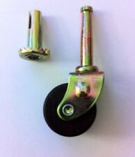 """C-4D WOOD FURNITURE CASTER 1-1/4"""" DIAMETER X 5/8"""" WIDE(THICK) WHEEL (QTY 1)"""
